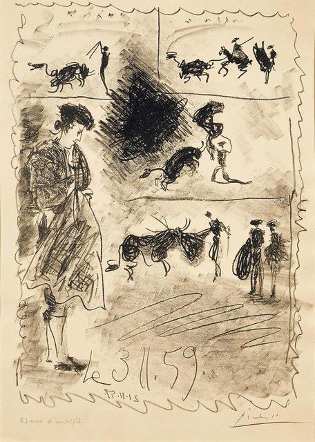 Pablo Picasso, 'Carnet de la Californie', 1959, Koller Auctions