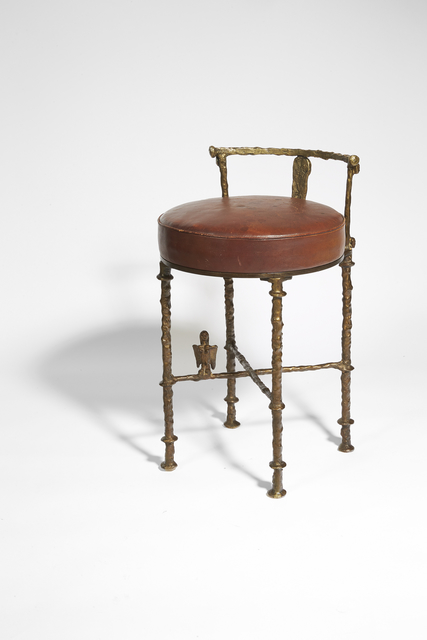 , 'Hair dresser stool with Harpy,' ca. 1960, Galerie Marcilhac