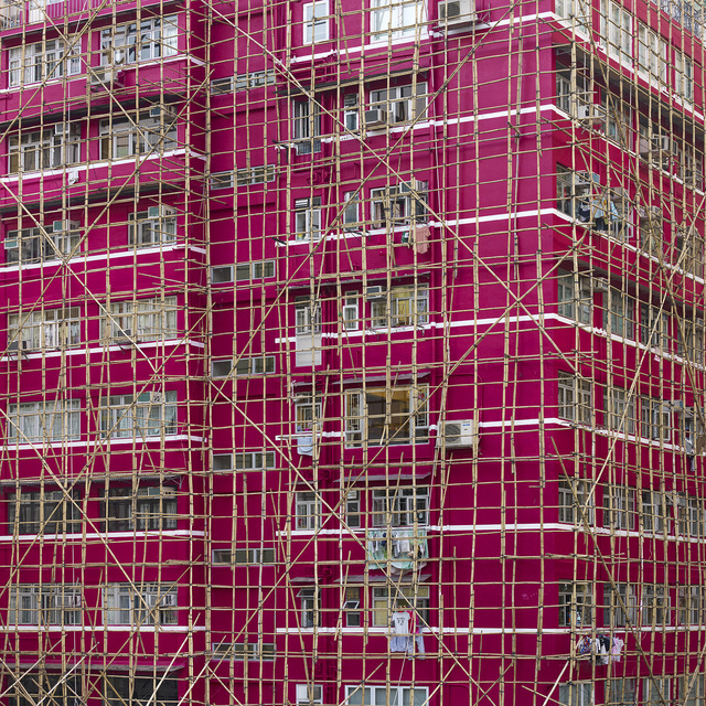 Peter Steinhauer, 'Rouge Cocoon Cage, Hong Kong', Contemporary by Angela Li