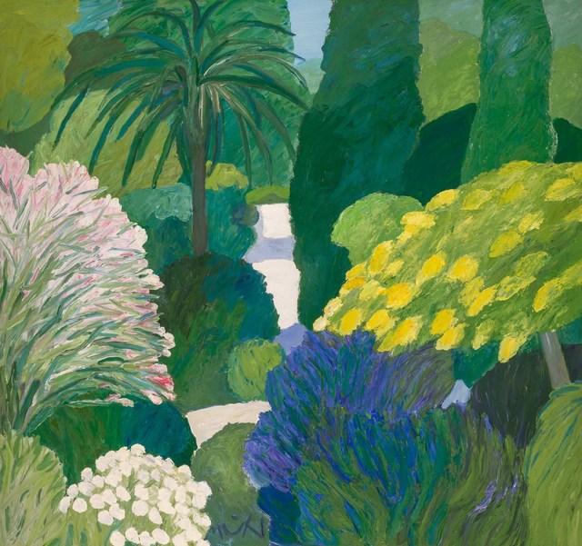 Roger Muhl, 'Jardin au Printemps', Painting, Oil on canvas, Doyle