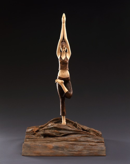, 'YOGA~ the Embodiment of tree,' 2007, Aki Gallery