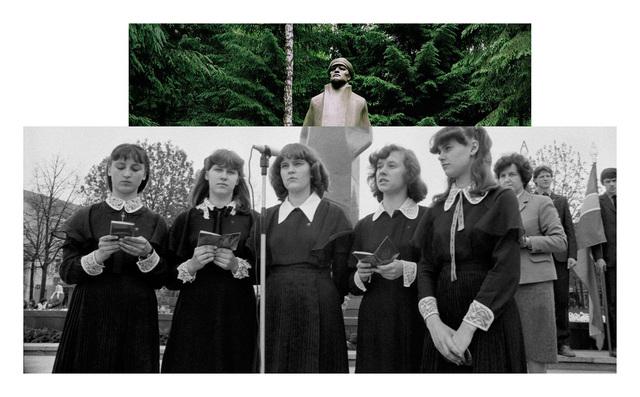 , 'Pedestal, Girls,' 2016, Parafin