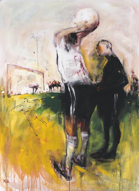 ", '""Football""2,' 2018, Krokin Gallery"