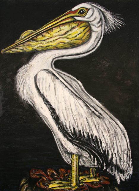, 'White Pelican,' 2015, William Campbell Contemporary Art, Inc.