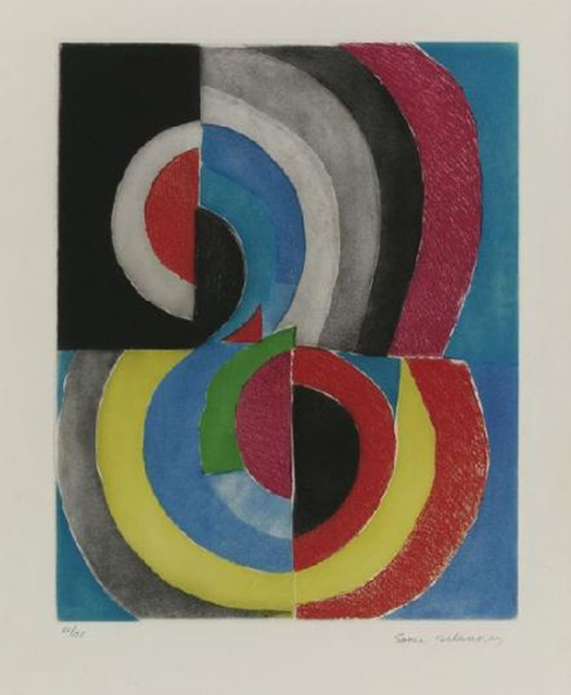 Sonia Delaunay, 'Composition', 1965, Galerie Thomas