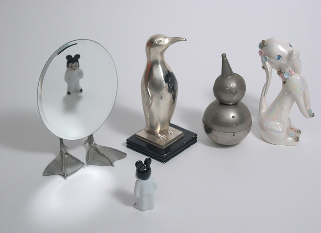 , 'Them with Silver Penguin,' 2007, Carrie Secrist Gallery