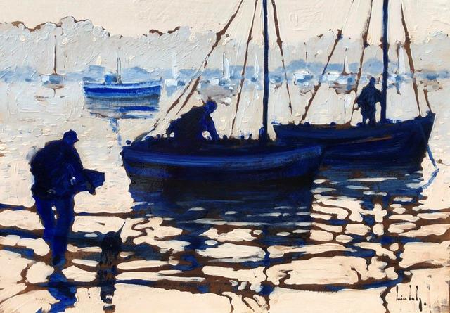 Olivier Suire Verley, 'Departure For Fishing', 2019, Addison Art Gallery