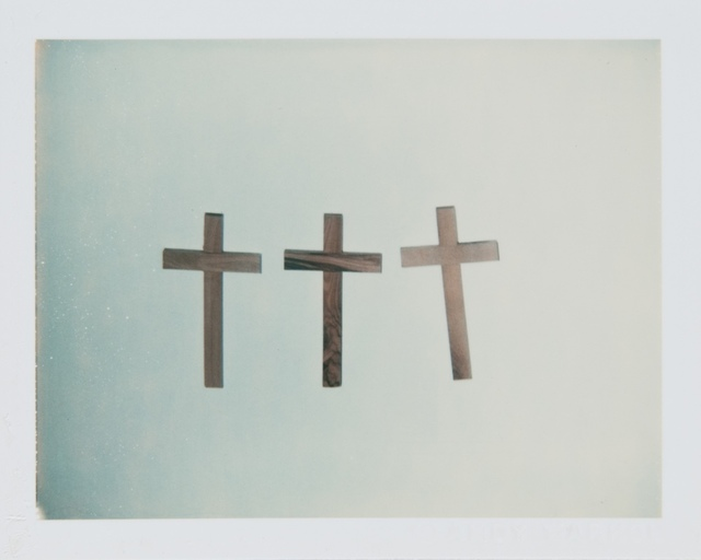Andy Warhol, 'Andy Warhol, Polaroid Photograph of Crosses, 1982', 1982, Hedges Projects