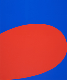 Red/Blue, from Ten Works by Ten Painters