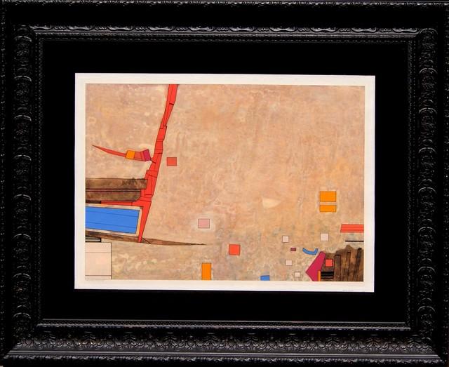 , 'Rojo-azul-naranja,' 1973, Oscar Roman