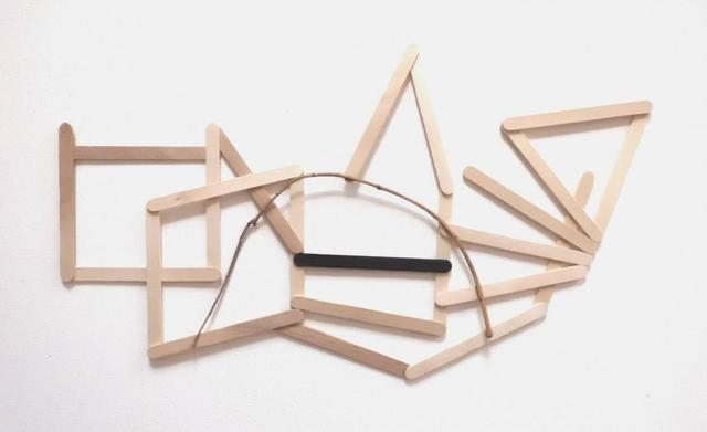Alice Gonglewski, 'Balance ', 2014, Mixed Media, Popsicle sticks, acrylic paint, twig, InLiquid