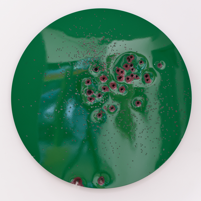 , 'CA Meadow Green on Red #1,' 2016, Mugello Gallery