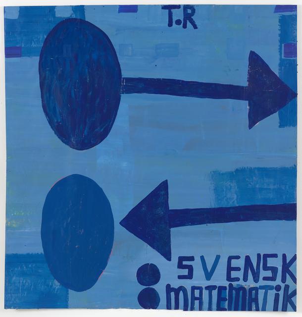 , ': svensk matematik,' 2017, Galleri Bo Bjerggaard