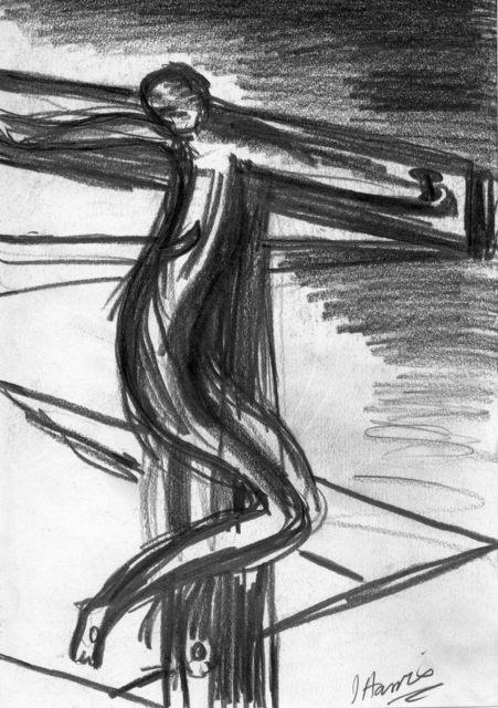 , 'Crucifixion II,' 1999, {Suite}