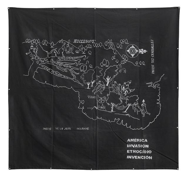 , 'América Invasión Etnocídio Invención,' 2016, Galeria Leme