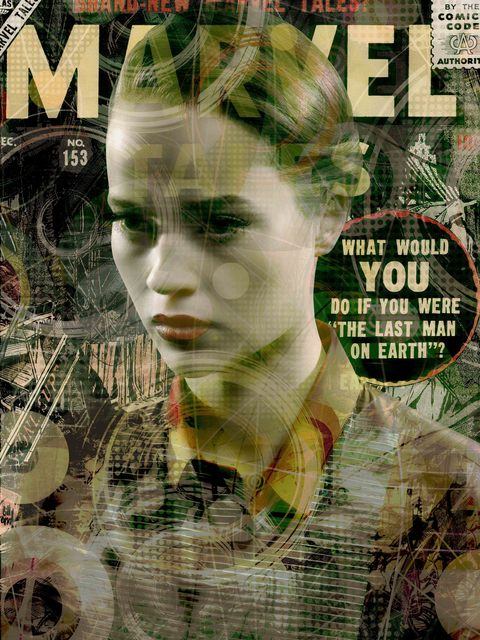 , 'Miss Marvel,' 2016, Galerie Nathalie Obadia