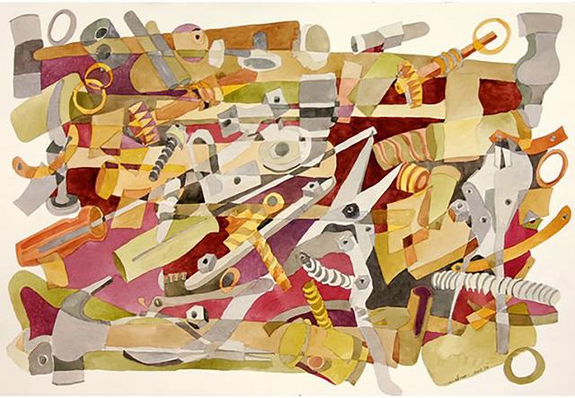 Vera Ferro, 'Ferramentas  4       Tools 4', 2005, Galeria Canoa
