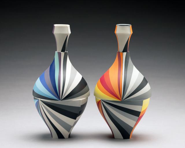 , 'Bottle Pair,' 2018, Duane Reed Gallery
