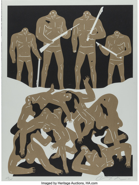 Cleon Peterson, 'The Genocide (white and black editions) (two works)', 2016, Heritage Auctions