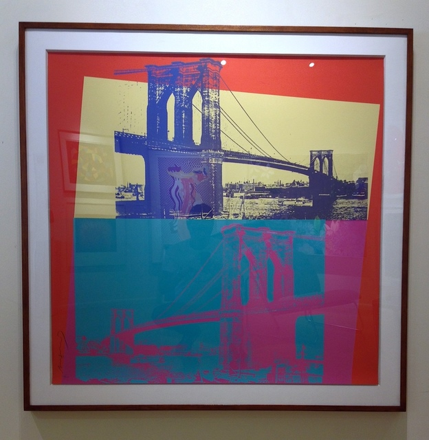 , 'Brooklyn Bridge,' 1983, Vertu Fine Art