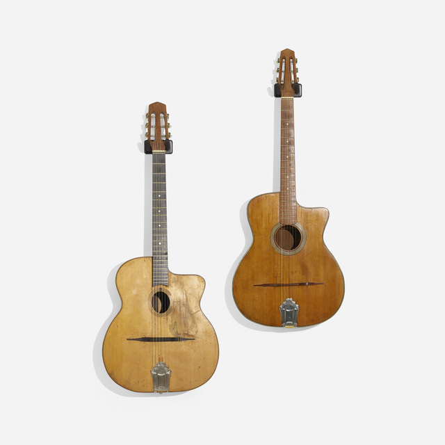 Romani, 'Jazz Guitars, Set of Two', c. 1940, Wright