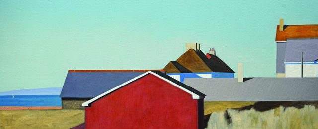 Alex Lowery, 'West Bay 294', 2017, Painting, Oil on canvas, Sladers Yard