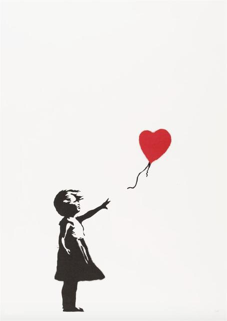 Banksy, 'Girl With Balloon', 2004, Woodbury House