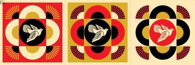 Shepard Fairey (OBEY), 'obey dove geometric', 2017, Rudolf Budja Gallery