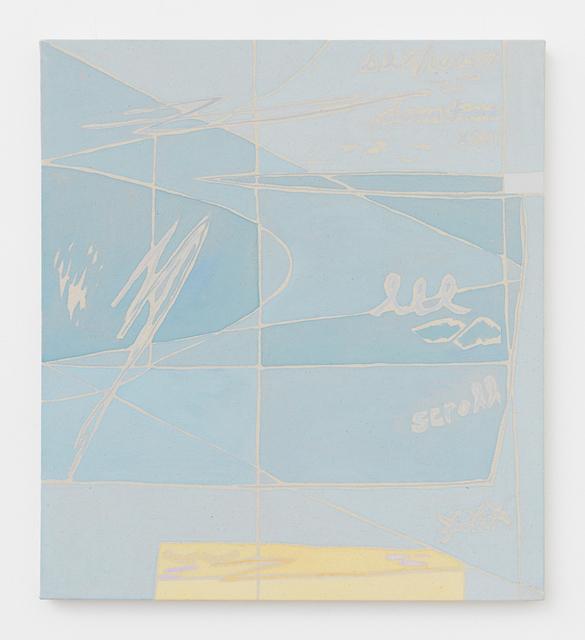 , 'Scroll,' 2016, Johannes Vogt Gallery