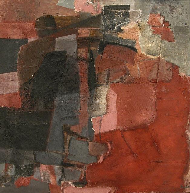 , '2 Apsaras,' 1957, Weinstein Gallery