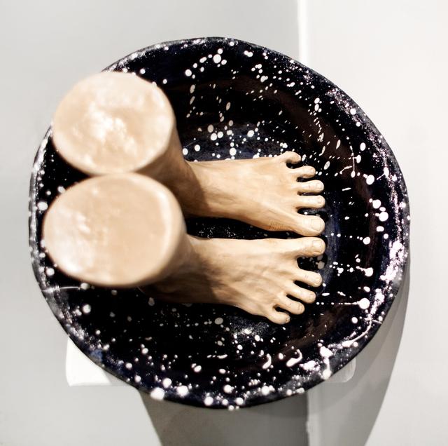 , 'Washbowl,' 2017, Galerie Iragui