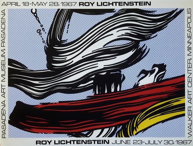 Roy Lichtenstein, 'Brushstrokes Poster', 1967, Graves International Art