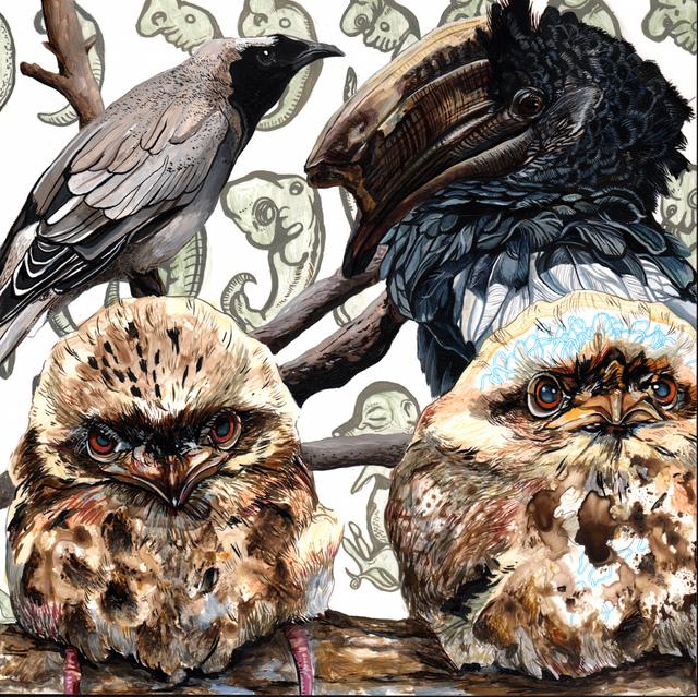 , 'Endangered Bird #157,' 2015, Jenn Singer Gallery