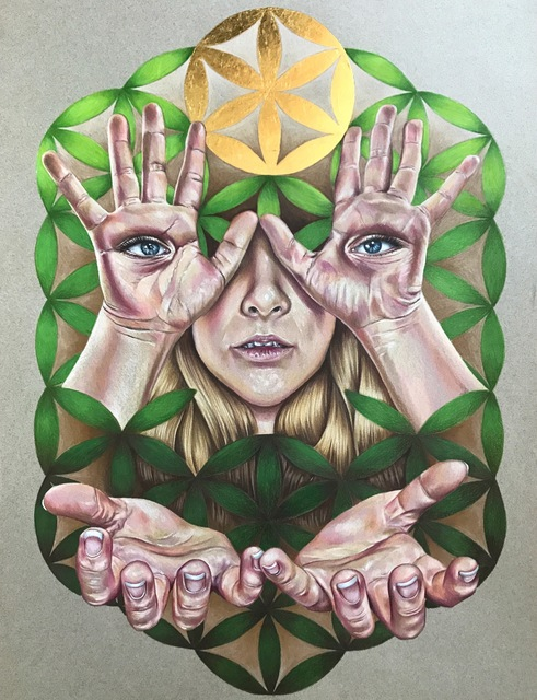 , 'See No Evil,' 2017, Main Street Arts