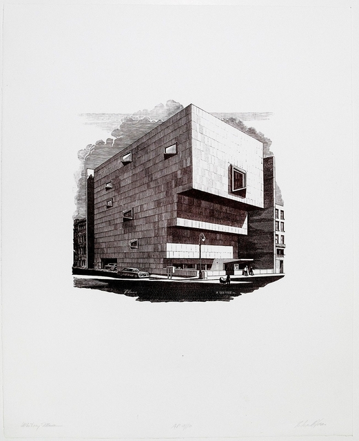 , 'The Whitney (Marcel Breuer Building),' 1979, Alpha 137 Gallery