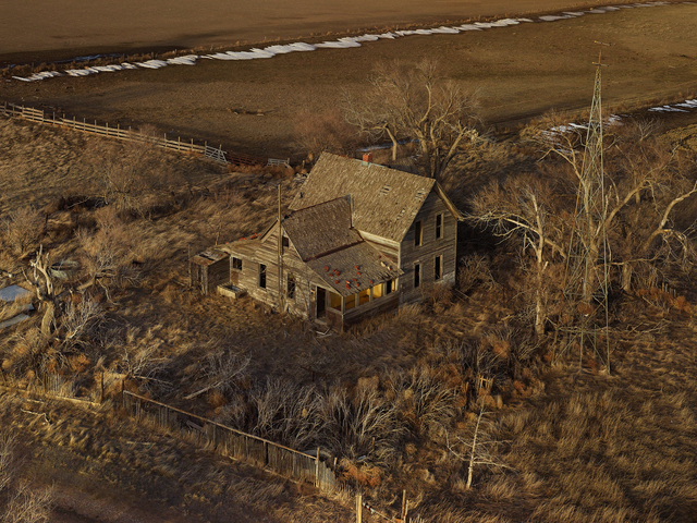 , 'The Yellow Porch, Sheridan County, Nebraska,' 2011, Kopeikin Gallery