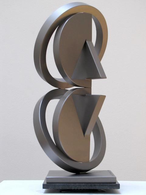 Fletcher Benton, 'Double Folded Circle Ring Maquette No. 56', 2016, Yares Art