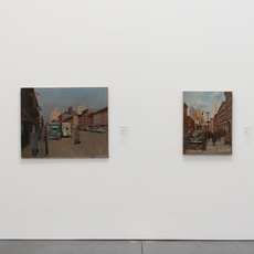 , 'Installation view of Changing Views: Painting as Metaphor, as part of the Permanent Collection Installation at the Parrish Art Museum,' 2014, Parrish Art Museum