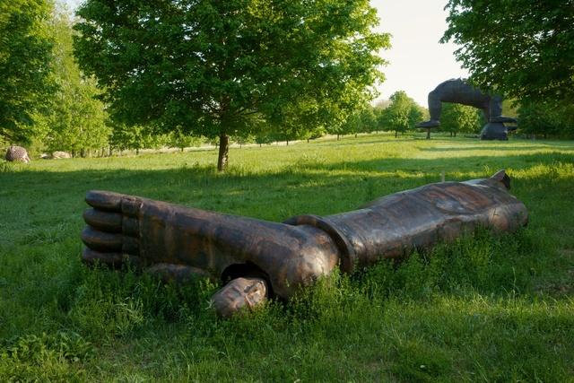 , 'Head from Buddha Foot,' 2006, Storm King Art Center
