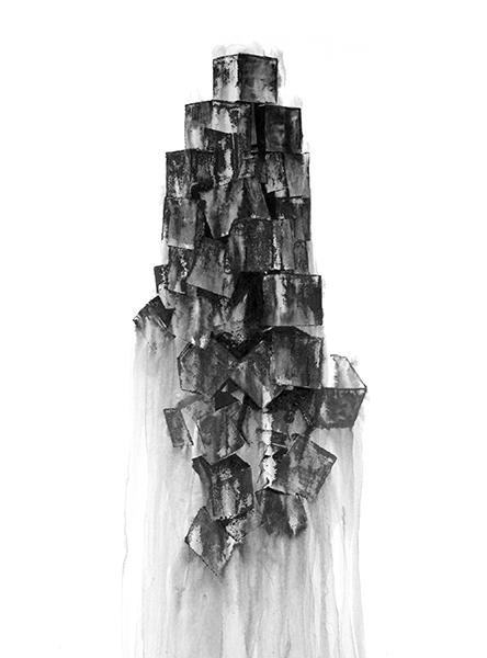 , 'Entrance – Ascent One,' 2018, MARS