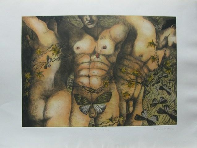 Rocio Caballero, 'Historia de Hadas y Elfos- Murmullos en el cuerpo', 2002, Galeria Oscar Roman