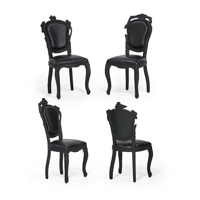 Maarten Baas, 'Set of four Smoke chairs, The Netherlands', 2000s, Rago