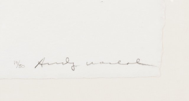 Andy Warhol, 'Fellatio', 1978, Print, Screenprint on HMP paper, Heritage Auctions