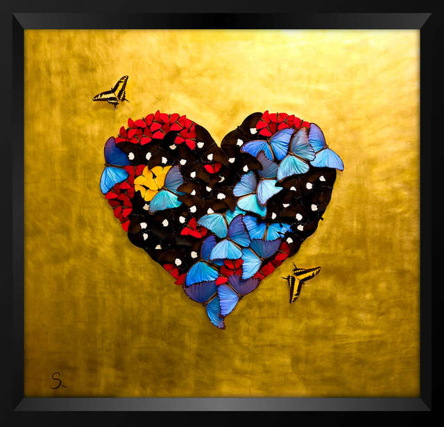 SN, 'HEART OF GOLD', Eden Fine Art