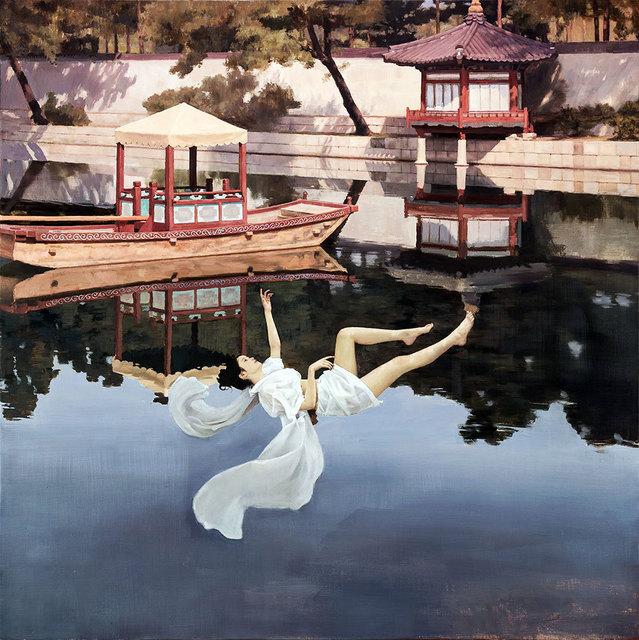 , 'Falling,' 2018, Pontone Gallery
