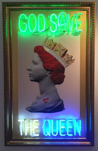 , 'God Save The Queen ,' 2017, Imitate Modern