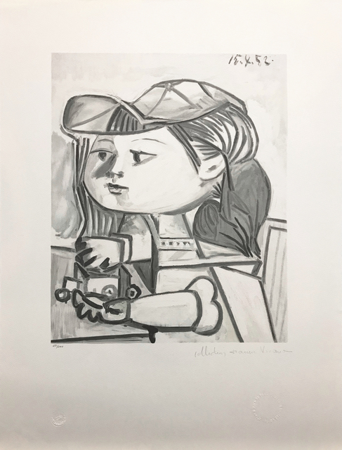 Pablo Picasso, 'BUSTE DE PETITE FILLE', 1979-1982, Reproduction, LITHOGRAPH ON ARCHES PAPER, Gallery Art