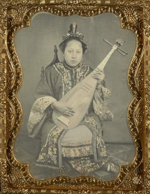 , 'Chinese Woman with a Mandolin,' 1860, J. Paul Getty Museum