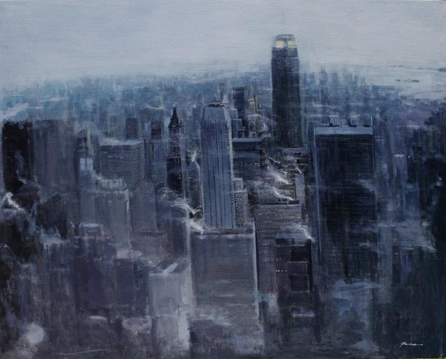 , 'Rain-Manhattan Smoke,' 2010, Alessandro Berni Gallery