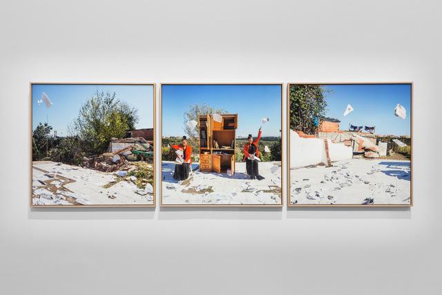 , 'Reading Circles,' 2019, Sabrina Amrani